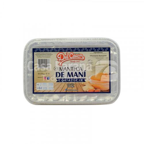 Manteca de Mani con azucar de 200g