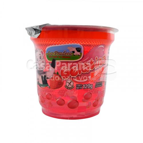 Gelatina sabor frutilla de 120g
