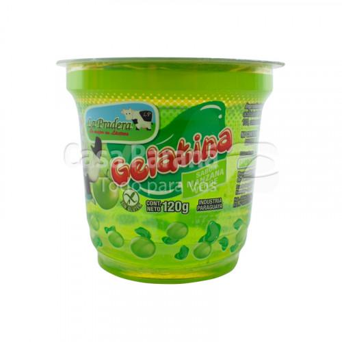Gelatina sabor manzana verde de 120g