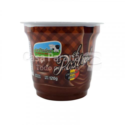 Postre sabor chocolate de 120g