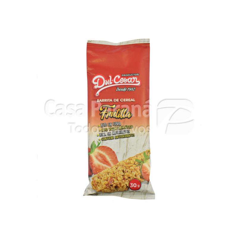 Barrita de ceral sabor frutilla de 30 gr