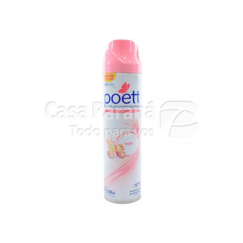 Desodorante de ambiente en aeorosol Poett BEBE 360ml