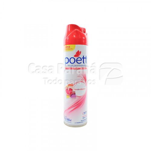 Desodorante de ambiente en aeorosol Poett LovEvolution 360ml