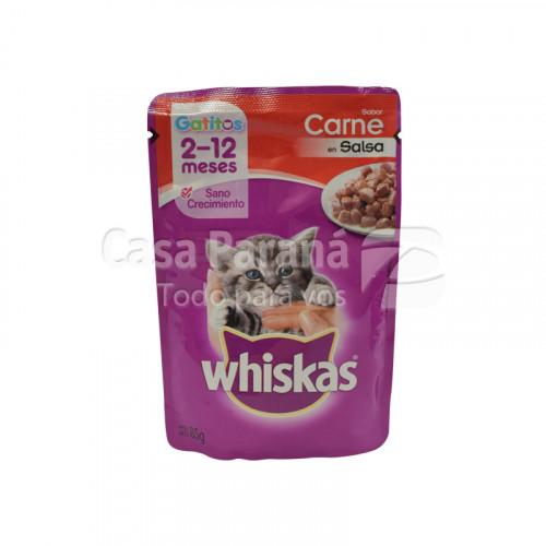 Alimento p/ Gatitos con sabor a carne 85g