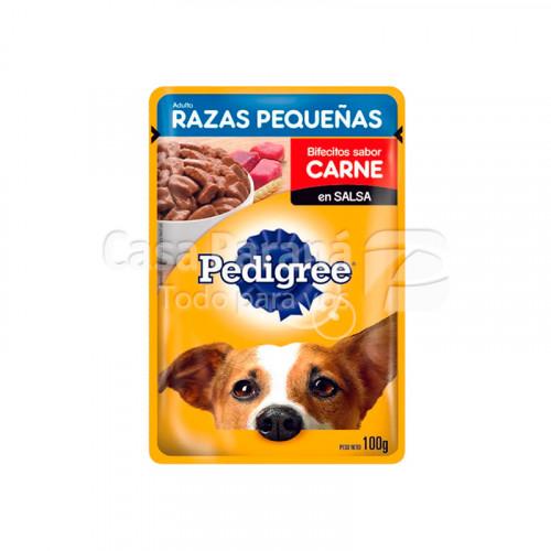 Alimento p/ Perro sabor a carne de 100g