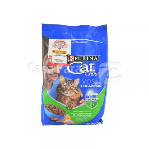 Alimento p/ Gato Adulto Hogareños 500g