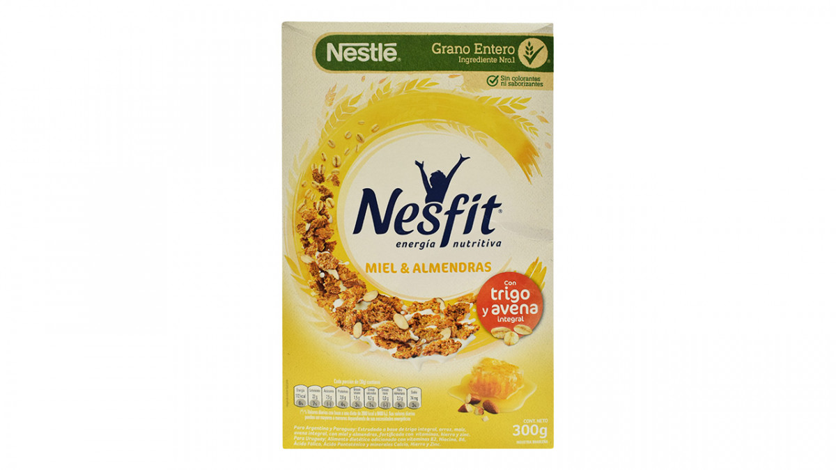 Cereal nesfit de miel y almendras de 300 gr