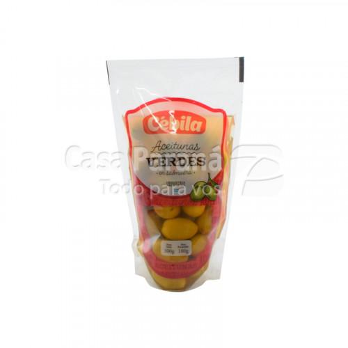 Aceitunas verdes en salmuera 300g