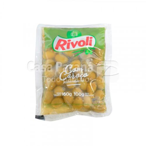Aceitunas verdes con semilla 160g