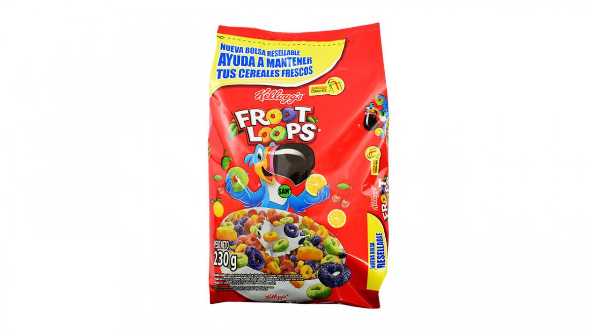 Zucaritas frutados en paquete de 230gr
