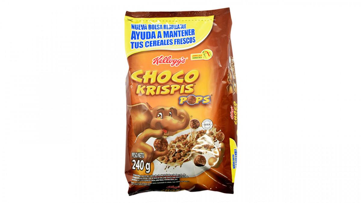 Zucaritas de chocolate en paquete de 240gr