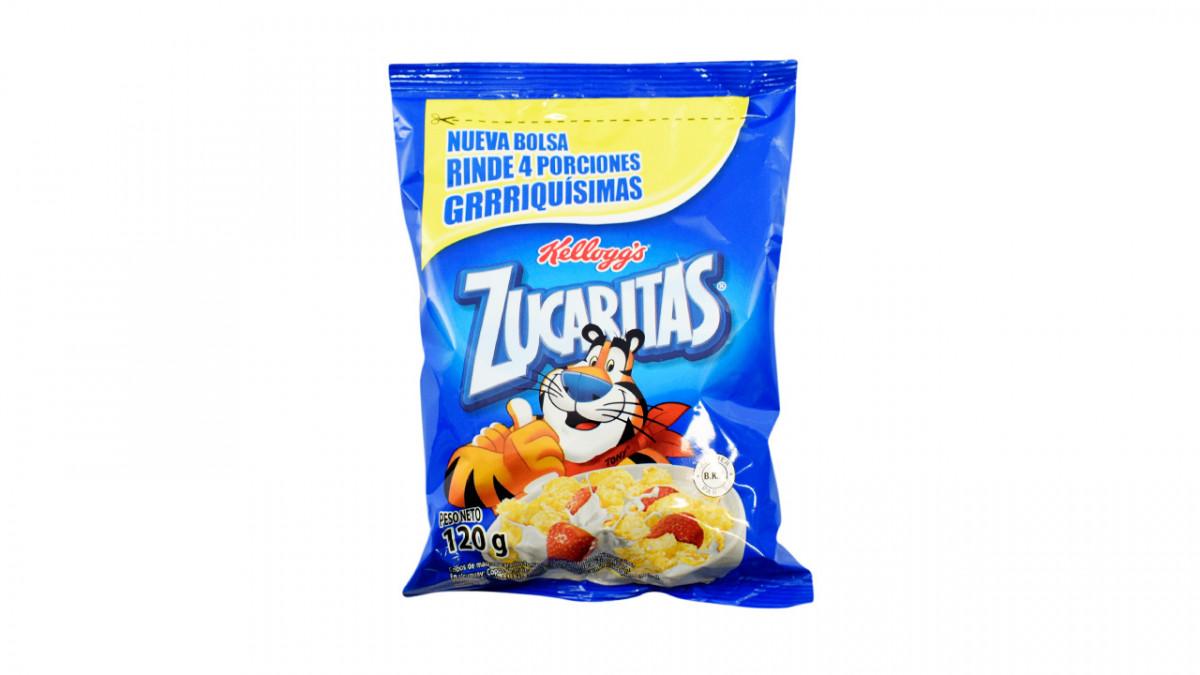 Zucaritas azucarados en paquete de 120gr