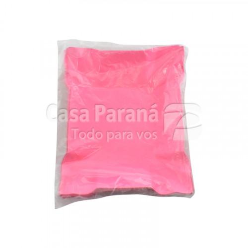 Bandejita de carton rosado 30pz