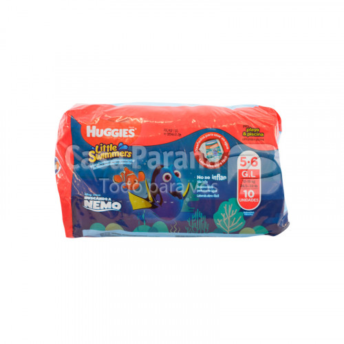 Pañal little swimmers Gl de 10 unidades