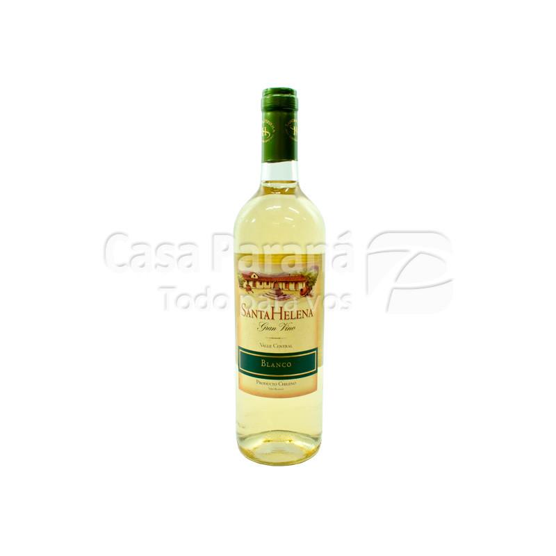 Vino SANTA HELENA blanco en botella 750 ml.