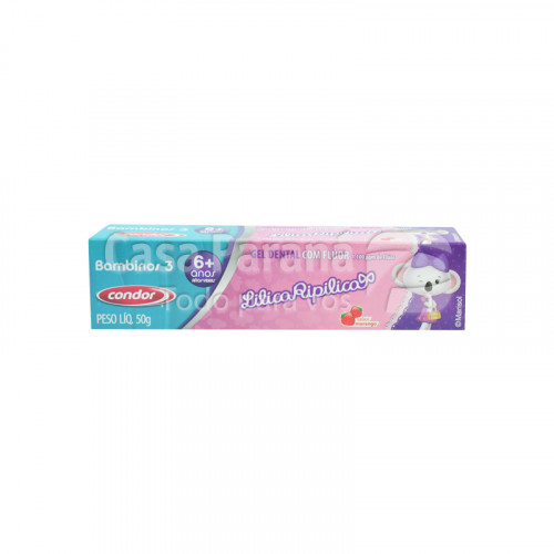 Crema dental lilica ripilica morango  50 gr