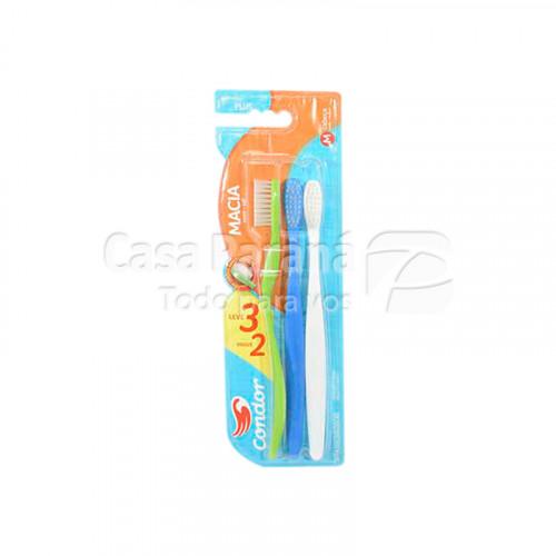 Cepillo dental 3 piezas