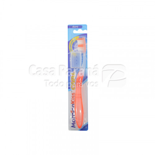 Cepillo dental oval duro con capuchon