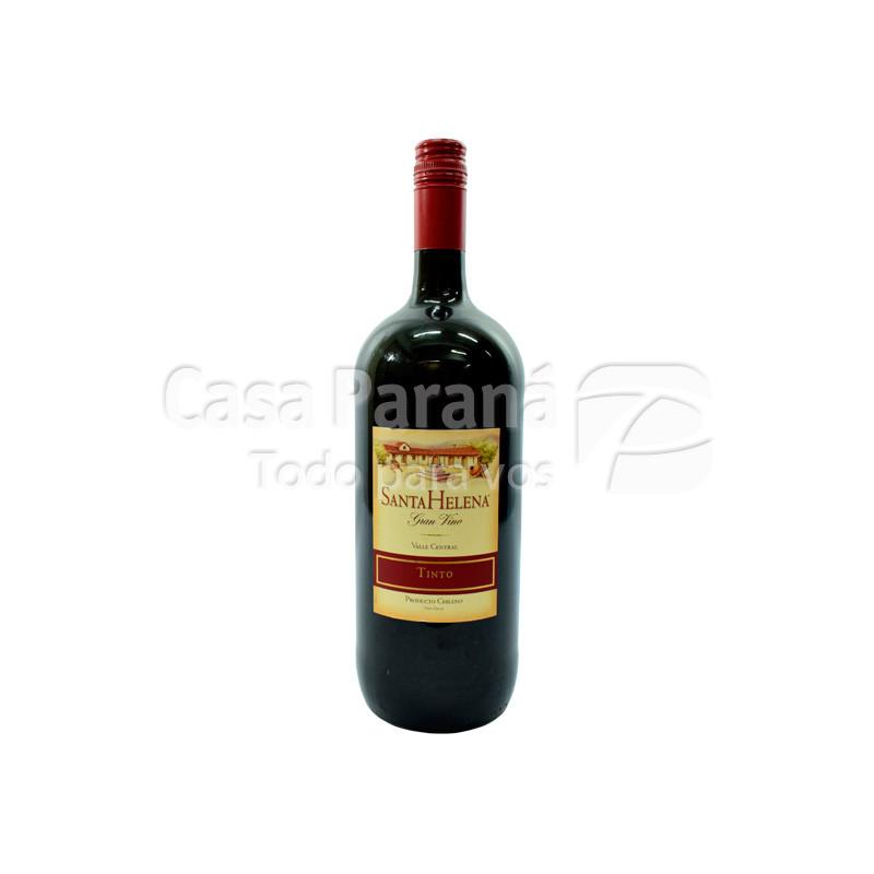 Vino SANTA HELENA borgona en botella 1.5 lts.