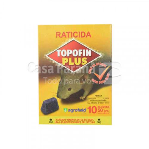 Racticida plus en mini bloques de 50g