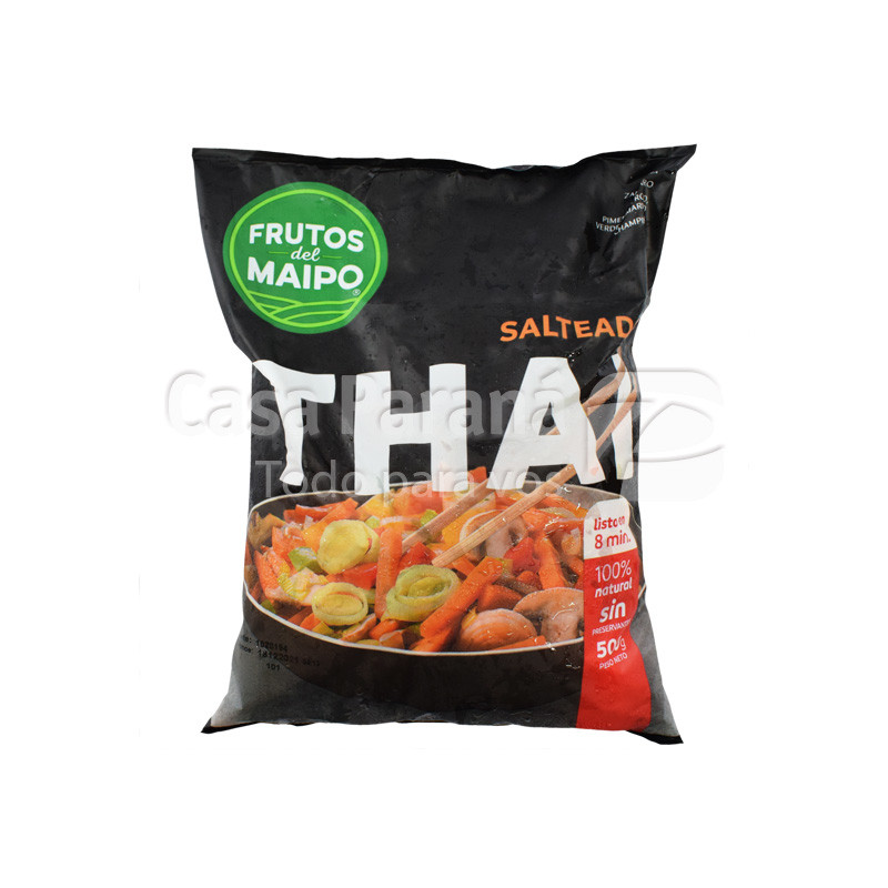 Salteado thai wok de 500gr.