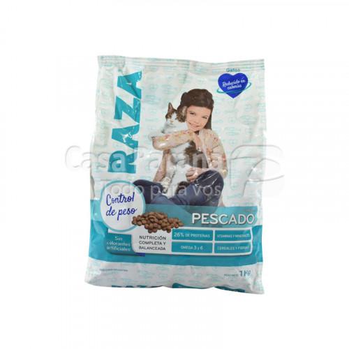 Alimento para gato sabor pescado de 1kg