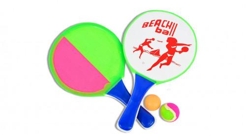 Juego de raqueta para playa