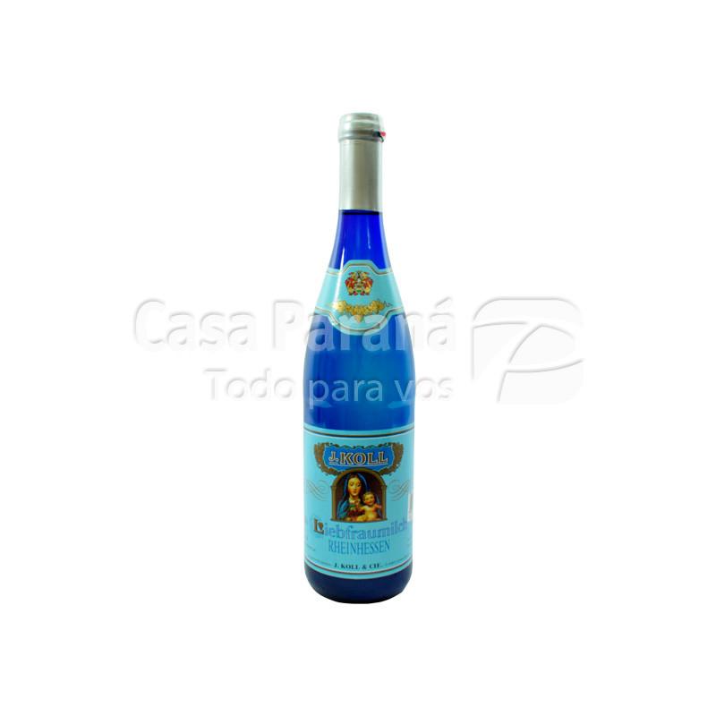 Vino J.KOLL Liebfraumilch blanco en botella 750 ml.