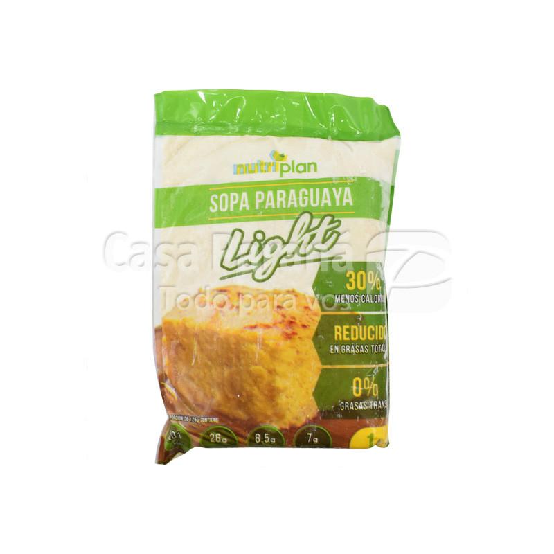 Mezcla para sopa paraguaya light de 1kl.