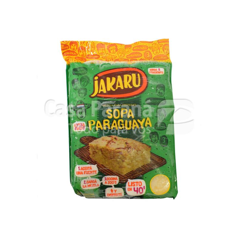 Mezcla para sopa paraguaya en paquete de 1kl.