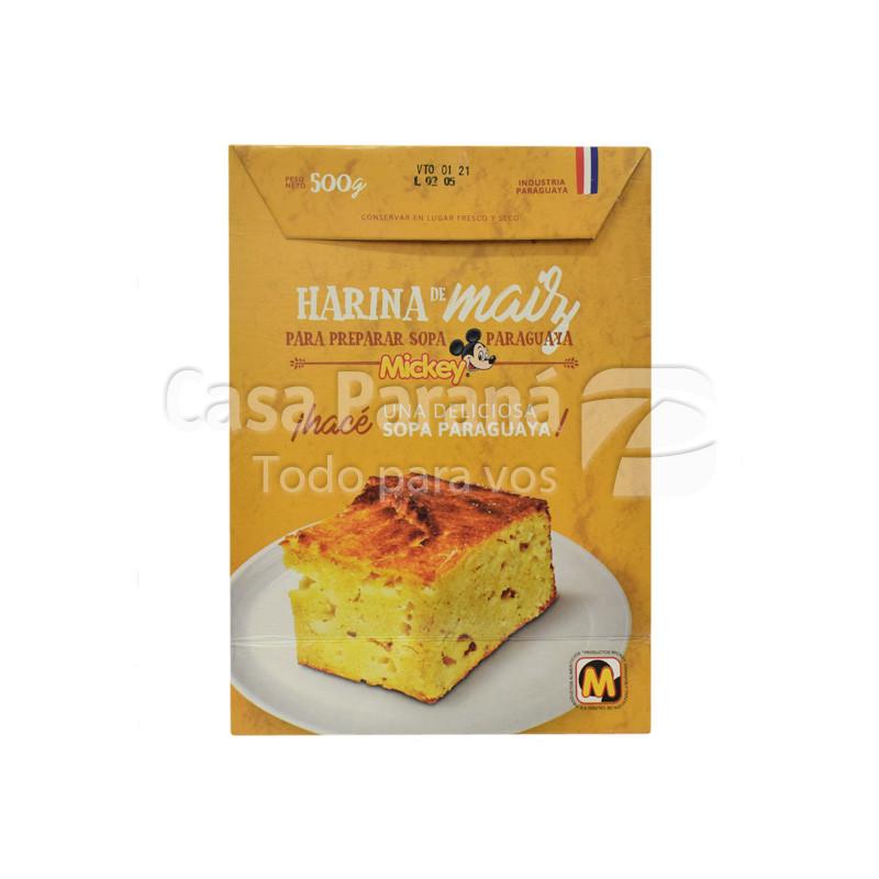 Harina de maiz para sopa de 500 gr