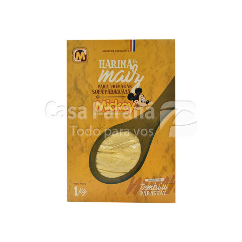Harina de maiz de 1 kilo