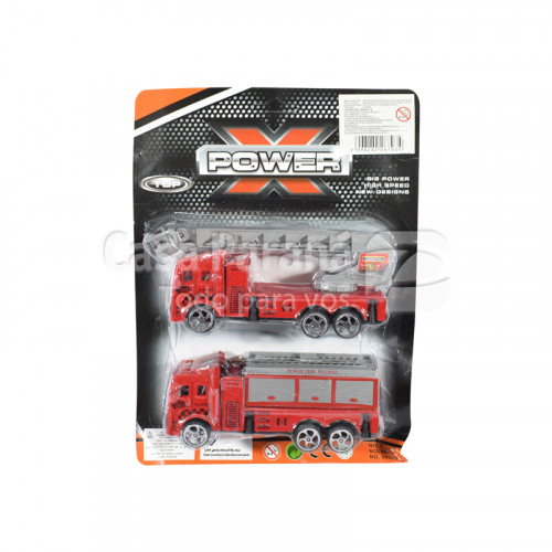 Camion de bombero de 2 piezas