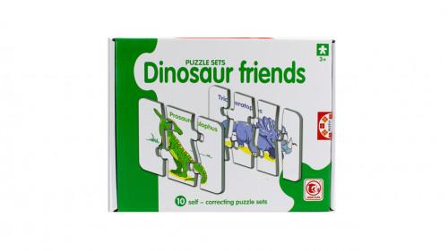 Rompecabezas diseño dinosaurio
