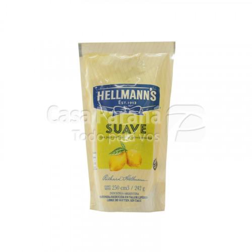 Mayonesa suave de 242g