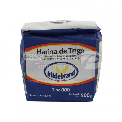 Harina de trigo 000 de 500g
