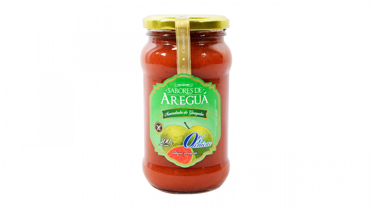 Mermelada de guayaba  0% azucar en frasco de 400gr.