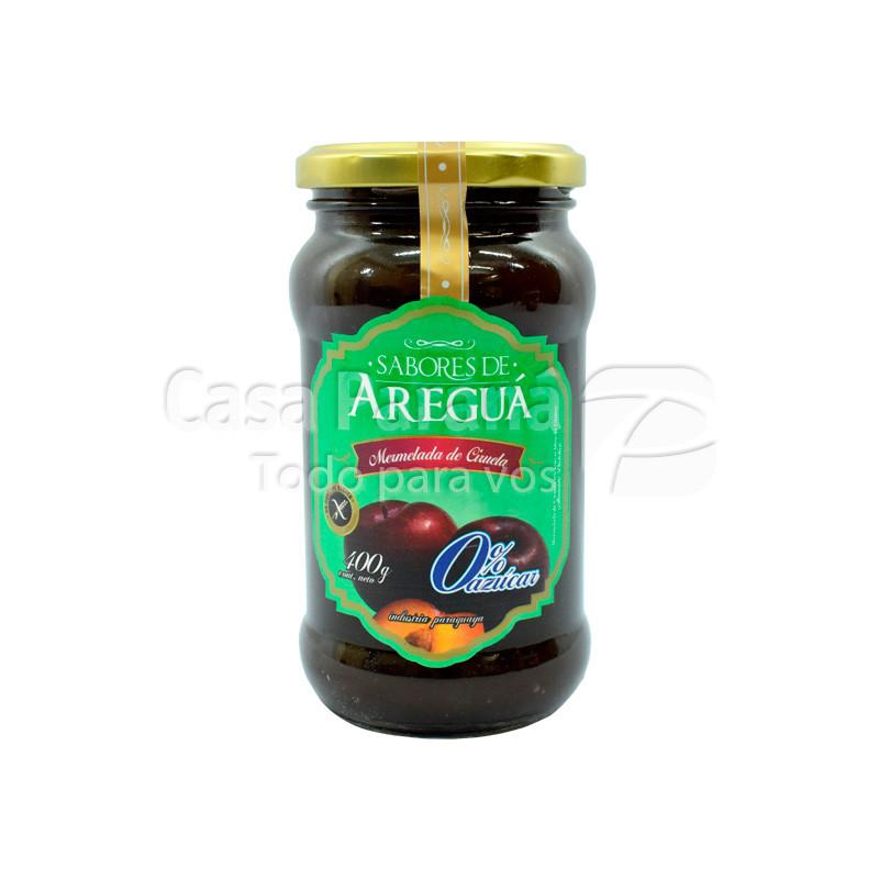 Mermelada 0% azúcar sabor ciruela frasco  400gr