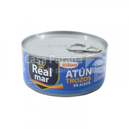 Trozos de atún en aceite de 170g