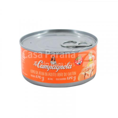 Lomo de atún en aceite libre de gluten de 170g