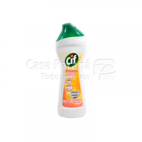 Limpiador cremoso aroma flores de naranjo de 250 ml