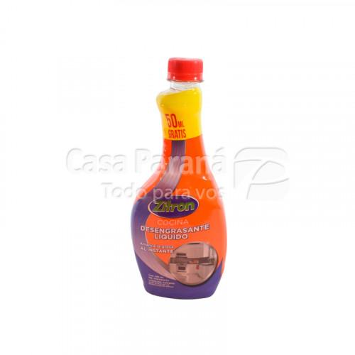 Limpiador liquido antigrasa para cocina de 480 ml