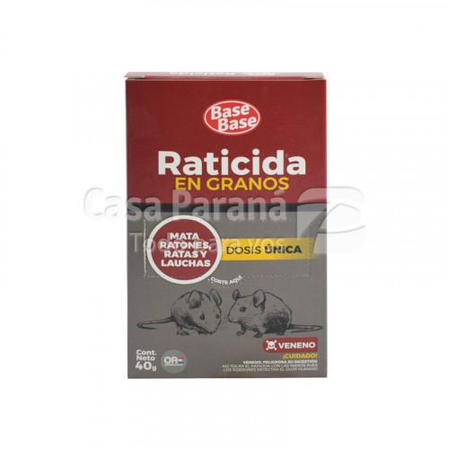 Racticida en granos contra ratas de 40 g