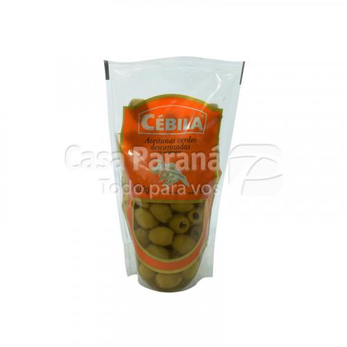 Aceitunas verdes descarozadas en salmuera de 300g