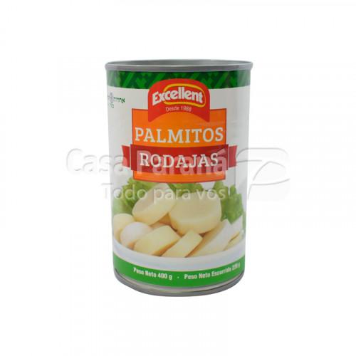 Palmitos en rodajas de 400g