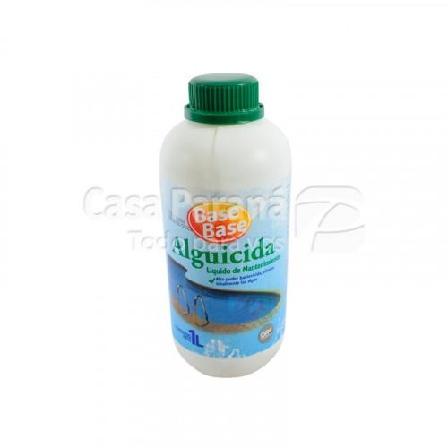 Alguicida liquida para mantenimiento de piscina de 1 litro