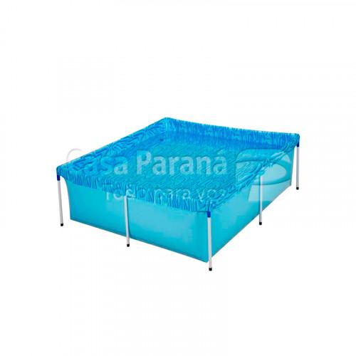 Pileta rectangular armable de 1500 litros
