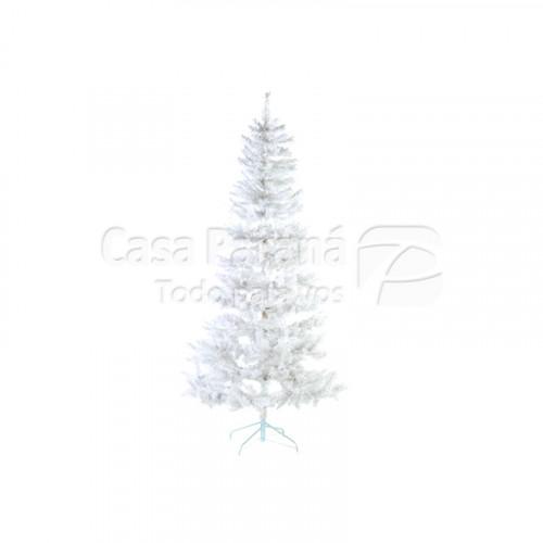 Arbolito navideño color blanco de 2.10 cm
