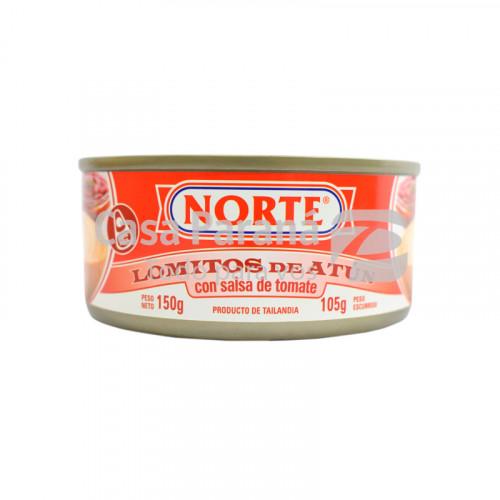 Atun con salsa de tomate de 150 gr