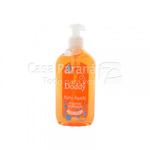 Jabon liquido fragancia prolongada para bebes de 220 ml